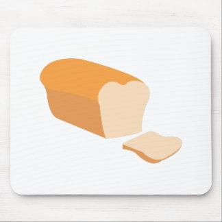 Pan cortado alfombrilla de ratón