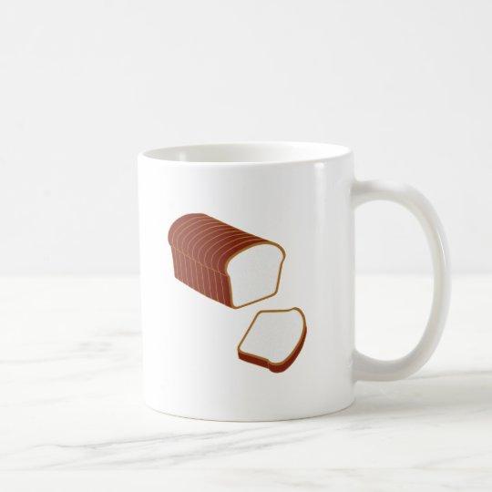 ¡Pan cortado! Taza De Café