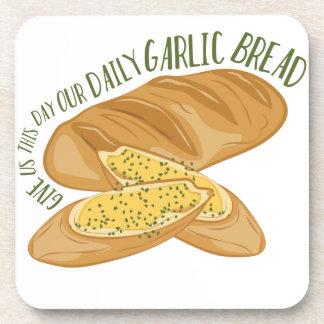 Pan de ajo diario posavaso