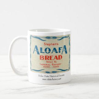 Pan de Aloafa Taza Básica Blanca