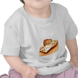 Pan de canela de la pasa camiseta