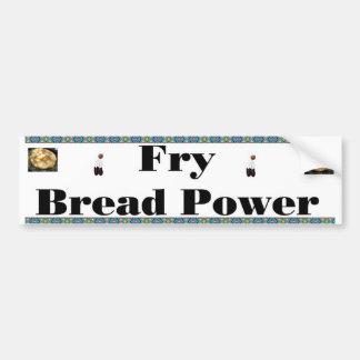 pan de fritada etiqueta de parachoque