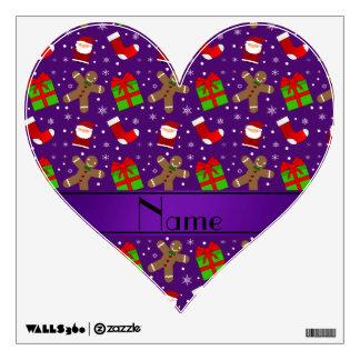 Pan de jengibre púrpura conocido de encargo de