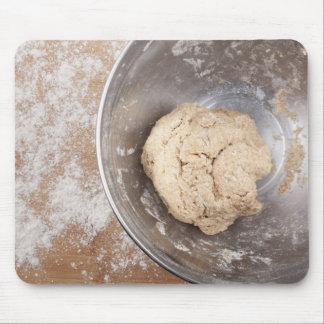 Pan de la hornada tapete de raton