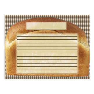 pan de la receta postal