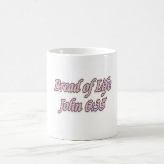 Pan del 6:35 de Juan de la vida Taza