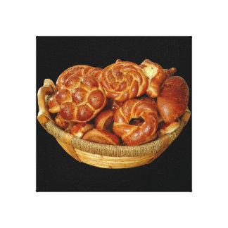 Pan del artesano impresión en tela