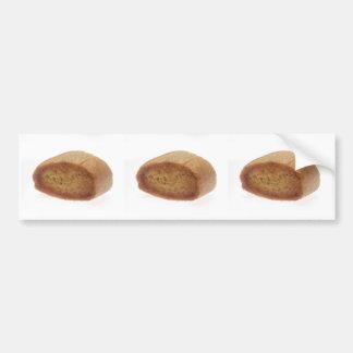 Pan del Baguette Etiqueta De Parachoque