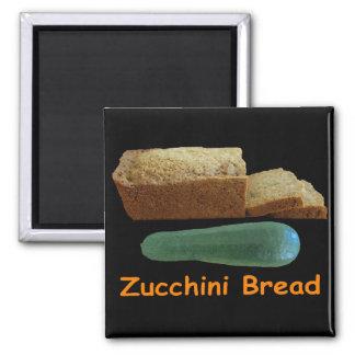 Pan del calabacín imanes de nevera