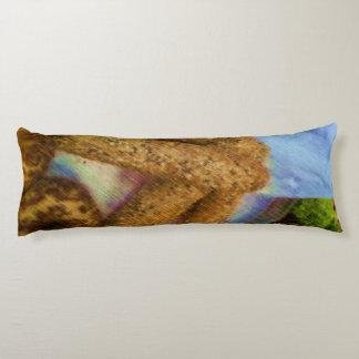 Pan del dibujo de la foto almohada larga