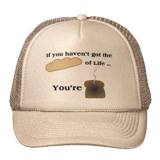 Pan del gorra del casquillo de la vida