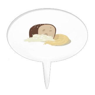 Pan del pan figuras de tarta
