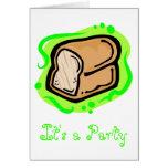 Pan del pan felicitación