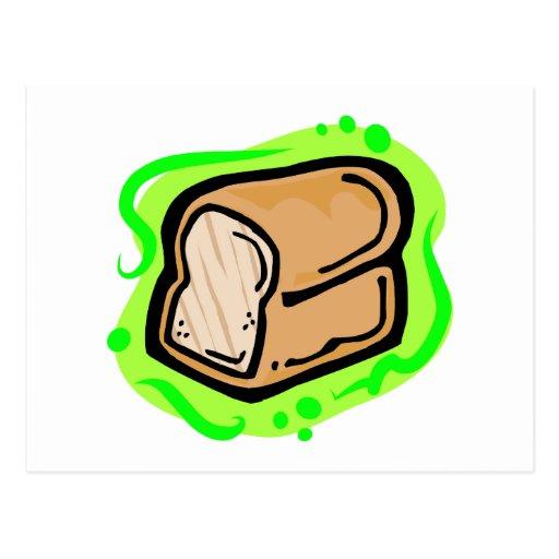 Pan del pan tarjeta postal