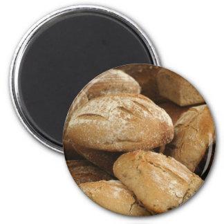 pan diario imán redondo 5 cm