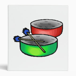 pan drums with mallets music percussion.png binder