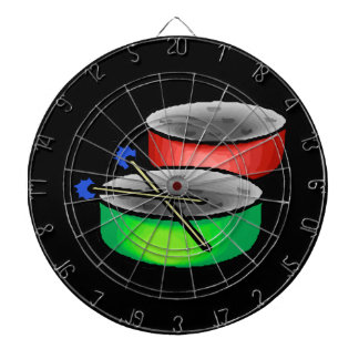 pan drums with mallets music percussion.png dartboard with darts