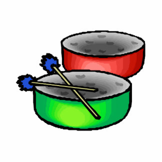 pan drums with mallets music percussion.png statuette