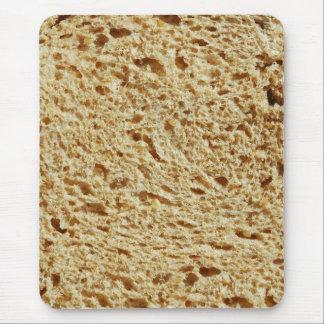 Pan entero del grano mousepad
