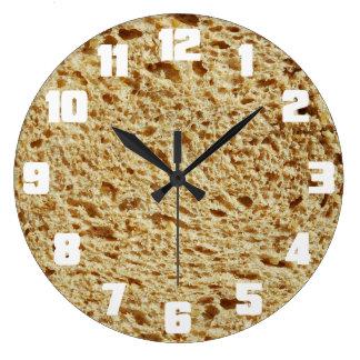 Pan entero del grano reloj redondo grande