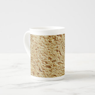 Pan entero del grano taza de porcelana