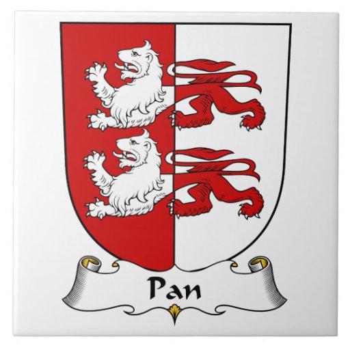 Pan Family Crest Tile