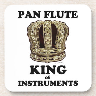 Pan Flute King of Instruments Coaster