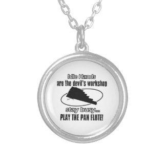 pan flute  music  design necklace