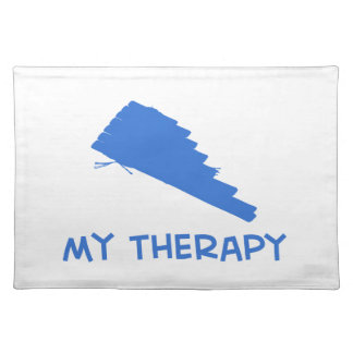Pan Flute my therapy designs Placemat