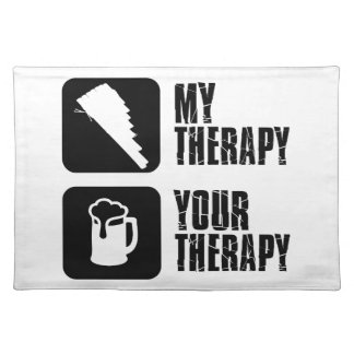 pan flute my therapy placemat