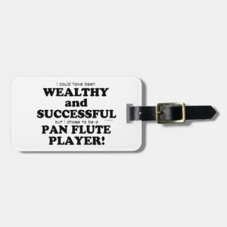 Pan Flute Wealthy & Successful Tags For Luggage