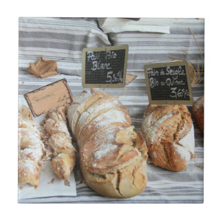 Pan francés por ProvenceProvence Azulejo Cuadrado Pequeño