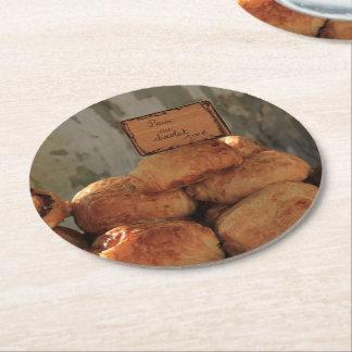 Pan francés por ProvenceProvence Posavasos Personalizable Redondo