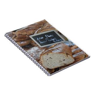 Pan francés por ProvenceProvence Spiral Notebook