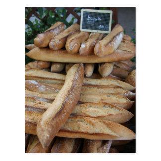 Pan francés por ProvenceProvence Tarjeta Postal