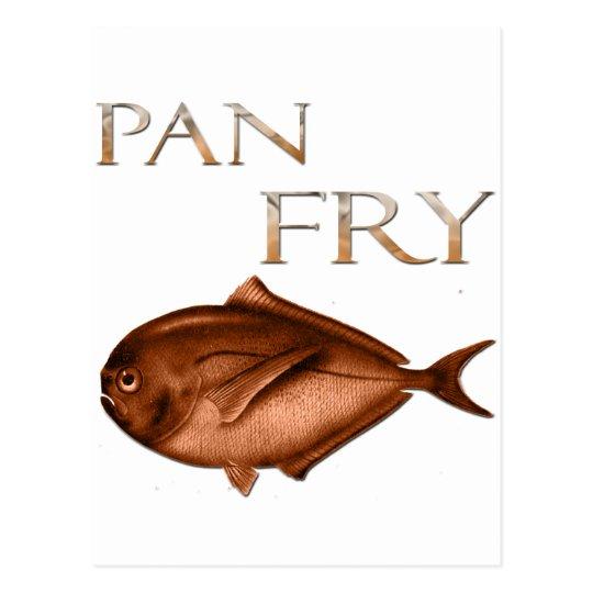 Pan Fry Postcard