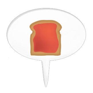 Pan gelatinado figura de tarta