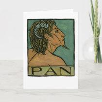 Pan Greeting Card