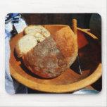 Pan hecho en casa alfombrillas de ratones
