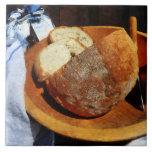 Pan hecho en casa azulejos ceramicos