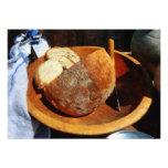 Pan hecho en casa comunicado personalizado