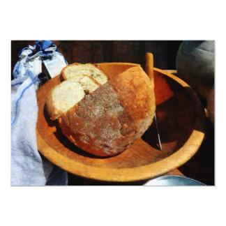 """Pan hecho en casa invitación 5"""" x 7"""""""