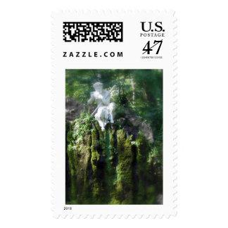 Pan in Schwetzingen Gardens Postage Stamp