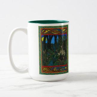 Pan Two-Tone Coffee Mug
