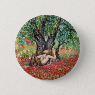 PAN, OLIVE TREE AND POPPY FIELDS BUTTON