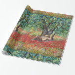 PAN, OLIVE TREE AND POPPY FIELDS WRAPPING PAPER