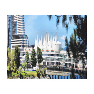 Pan Pacific Convention Center Gallery Wrap Canvas