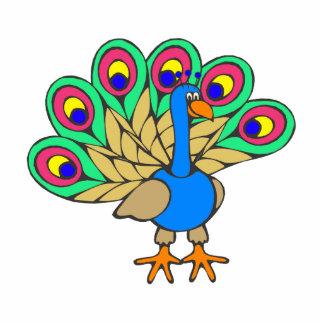 Pan Peacock Photo Sculptures