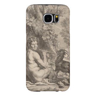 Pan playing floods samsung galaxy s6 case