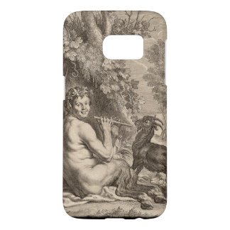 Pan playing floods samsung galaxy s7 case